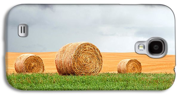 Bales And Layers Galaxy S4 Case by Todd Klassy