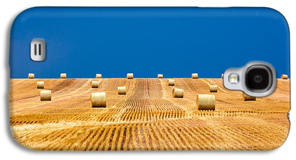 Bales On The Storm Galaxy S4 Case by Todd Klassy