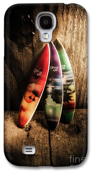 Bali Beach Surf Holiday Scene Galaxy S4 Case by Jorgo Photography - Wall Art Gallery