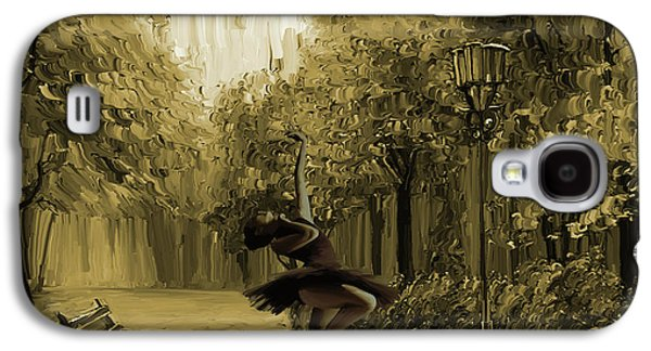 Ballerina In The Park 02 Galaxy S4 Case by Gull G