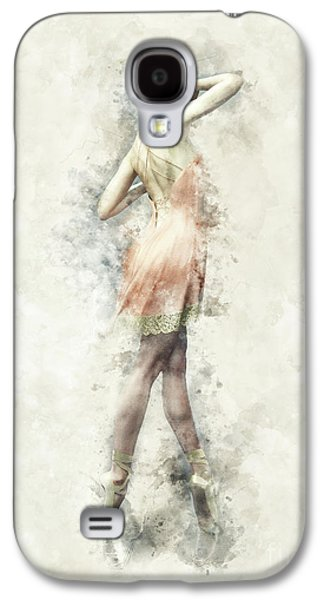 Ballet Dancer Galaxy S4 Case by Shanina Conway