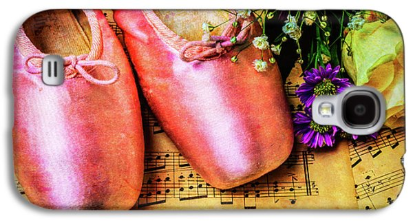Ballet Shoes And Old Sheet Music Galaxy S4 Case by Garry Gay