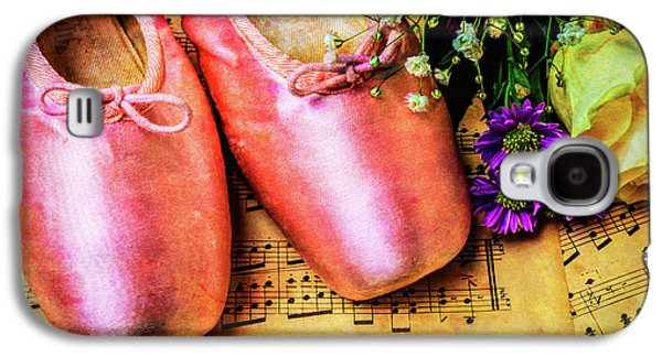 Ballet Shoes And Old Sheet Music Galaxy S4 Case