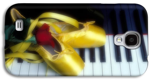 Ballet Shoes On Piano Keys Galaxy S4 Case