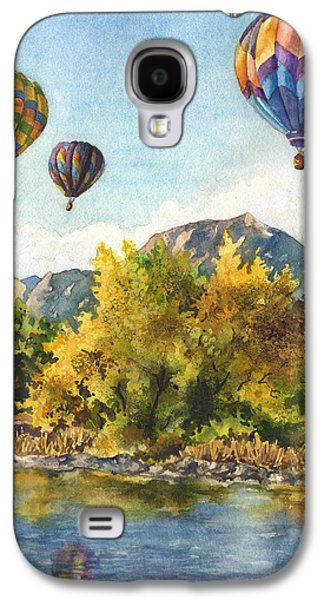 Balloons At Twin Lakes Galaxy S4 Case