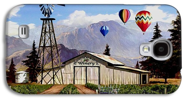 Balloons Over The Winery 1 Galaxy S4 Case