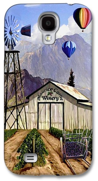 Balloons Over The Winery Galaxy S4 Case