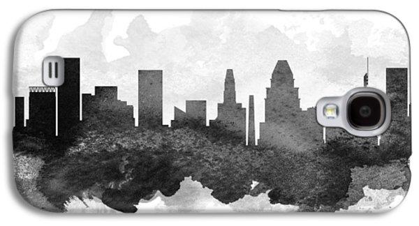 Baltimore Cityscape 11 Galaxy S4 Case