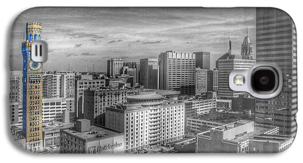 Baltimore Landscape - Bromo Seltzer Arts Tower Galaxy S4 Case by Marianna Mills