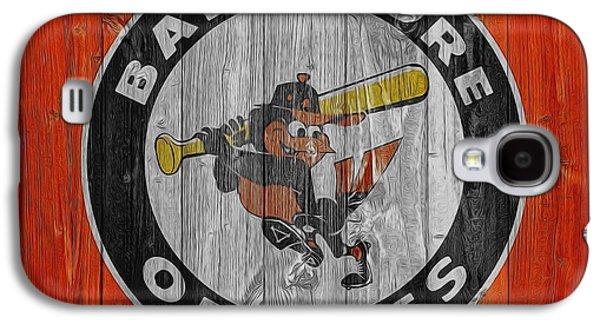 Baltimore Orioles Graphic Barn Door Galaxy S4 Case