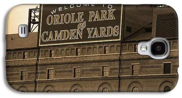 Baltimore Orioles Park At Camden Yards Sepia Galaxy S4 Case