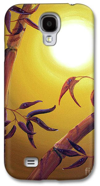 Bamboo After A Light Rain Galaxy S4 Case by Laura Iverson