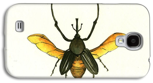 Bamboo Beetle Galaxy S4 Case by Juan Bosco