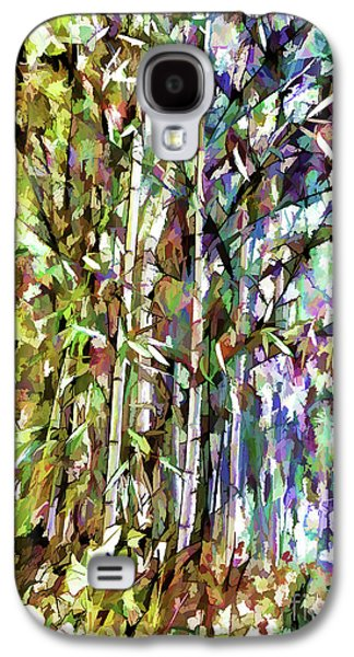 Bamboo Trees In Park Galaxy S4 Case by Lanjee Chee