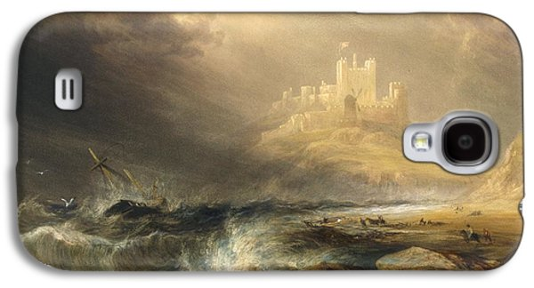 Bamborough Castle Galaxy S4 Case by Willliam Andrews Nesfield
