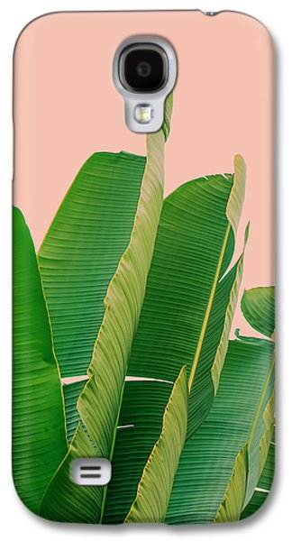 Banana Leaves Galaxy S4 Case by Rafael Farias