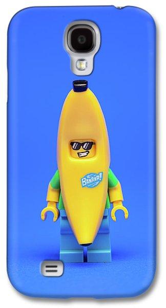 Banana Man Galaxy S4 Case by Samuel Whitton