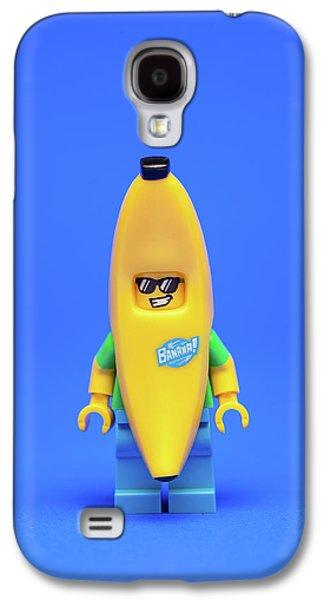 Banana Galaxy S4 Case - Banana Man by Samuel Whitton