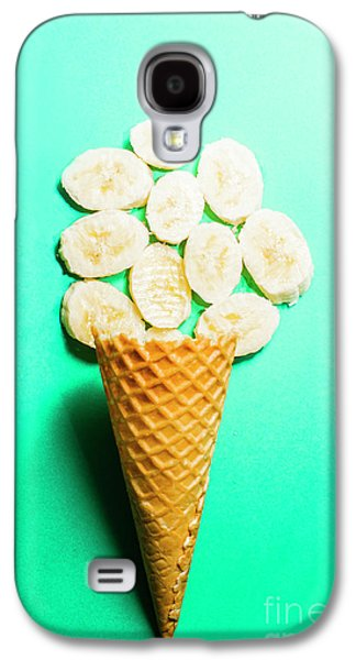 Bananas Over Sorbet Galaxy S4 Case by Jorgo Photography - Wall Art Gallery
