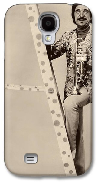 Band Leader Doc Serverinsen 1974 Galaxy S4 Case by Mountain Dreams