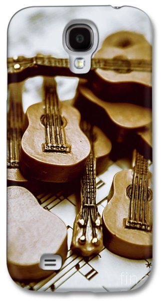 Band Of Live Acoustic Guitars Galaxy S4 Case by Jorgo Photography - Wall Art Gallery
