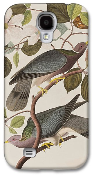 Band-tailed Pigeon  Galaxy S4 Case by John James Audubon