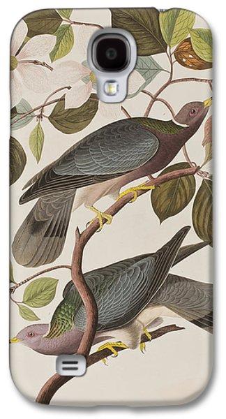 Band-tailed Pigeon  Galaxy S4 Case by John James Audubon