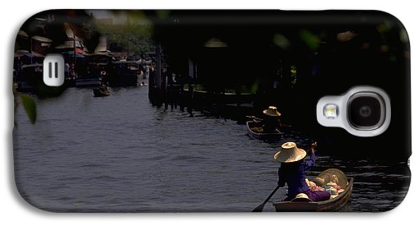 Bangkok Floating Market Galaxy S4 Case by Travel Pics