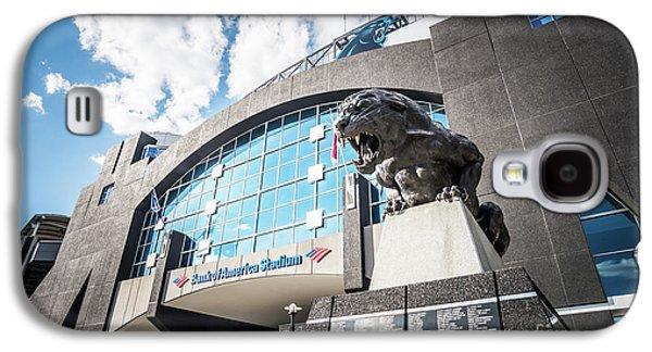 Bank Of America Stadium Carolina Panthers Photo Galaxy S4 Case by Paul Velgos