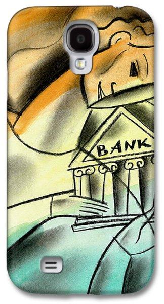 Banking Galaxy S4 Case by Leon Zernitsky