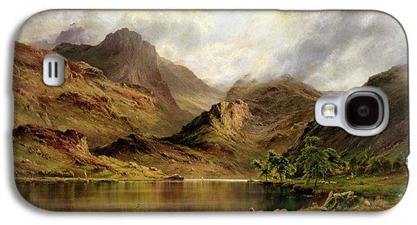 Scotland Galaxy S4 Case - Banks Of Arrochar by Alfred de Breanski