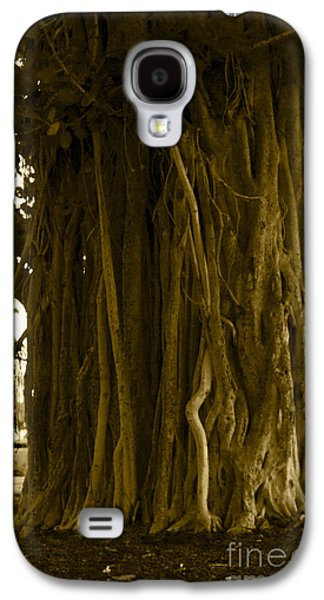 Banyan Surfer - Triptych  Part 1 Of 3 Galaxy S4 Case