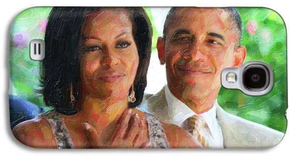 Barack And Michelle Obama Galaxy S4 Case