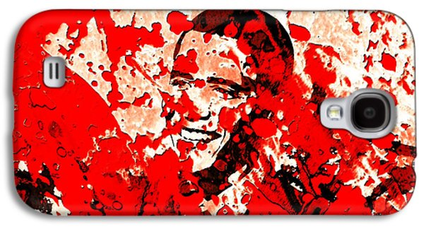 Barack Obama 44b Galaxy S4 Case by Brian Reaves