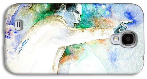 Barack Obama Pointing At You Galaxy S4 Case by Miki De Goodaboom