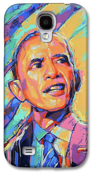 Barack Obama - Pop Art - American Icon Galaxy S4 Case by Damon Gray