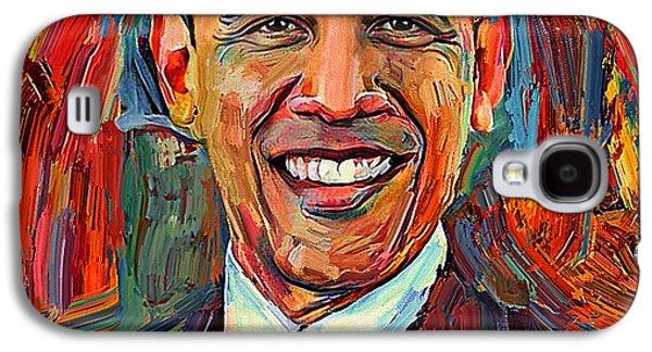 Barack Obama Portrait 2 Galaxy S4 Case