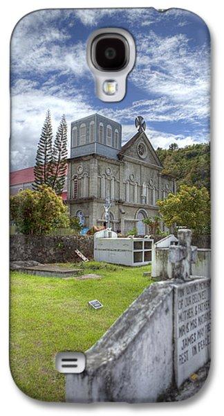 Barbados Cemetary Galaxy S4 Case by Jon Glaser