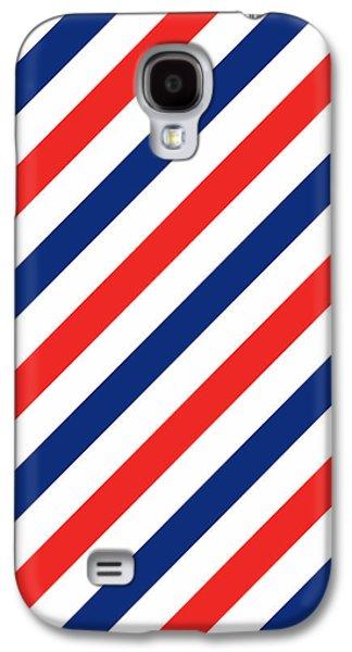 Barber Stripes Galaxy S4 Case