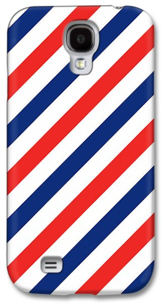 Barber Stripes Galaxy S4 Case by Julia Jasiczak