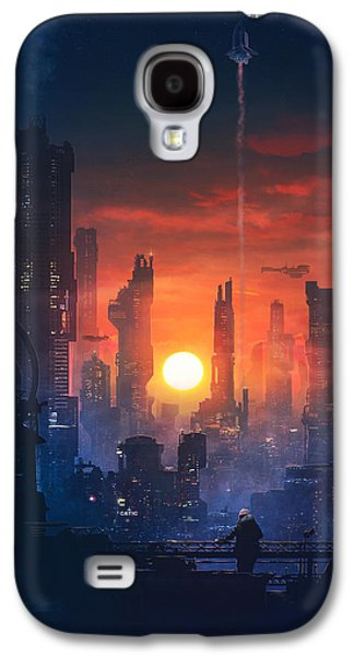 Barcelona Smoke And Neons The End Galaxy S4 Case