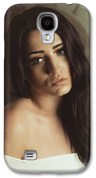 Bare Shoulder Woman Galaxy S4 Case by Amanda Elwell