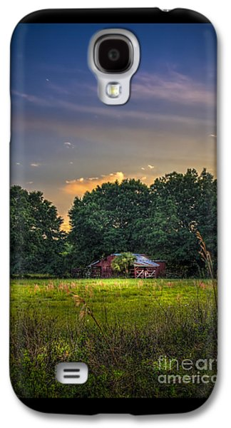 Barn And Palmetto Galaxy S4 Case by Marvin Spates