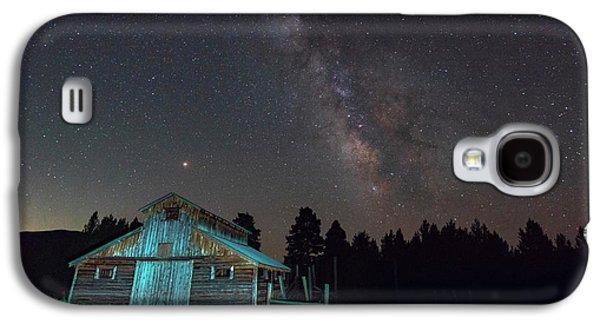 Barn In Rocky Galaxy S4 Case