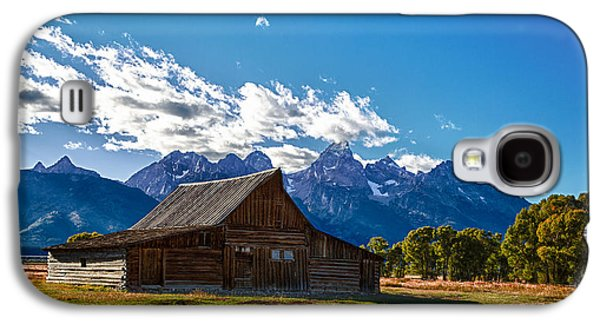 Barn On Mormon Row Galaxy S4 Case