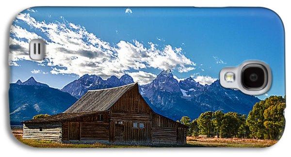 Barn On Mormon Row Galaxy S4 Case