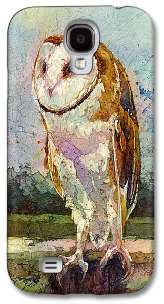 Barn Owl Galaxy S4 Case by Hailey E Herrera