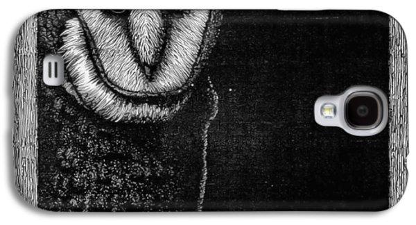 Barn Owl Galaxy S4 Case by Wayne Paulin