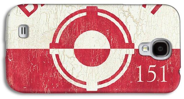 Barnegat Beach Badge Galaxy S4 Case by Debbie DeWitt