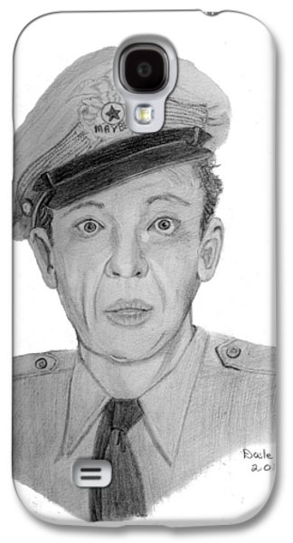 Barney Fife Galaxy S4 Case by Dale Ballenger